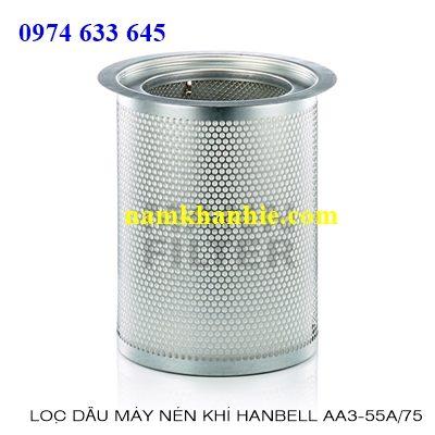 Lọc tách dầu máy nén khi Hanbell AA3-55A/75A