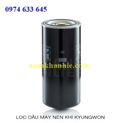Lọc dầu máy nén khí Kyungwon AS 76