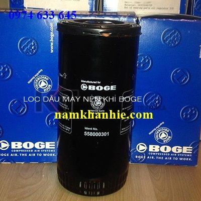 Lọc dầu máy nén khi Boge558000301