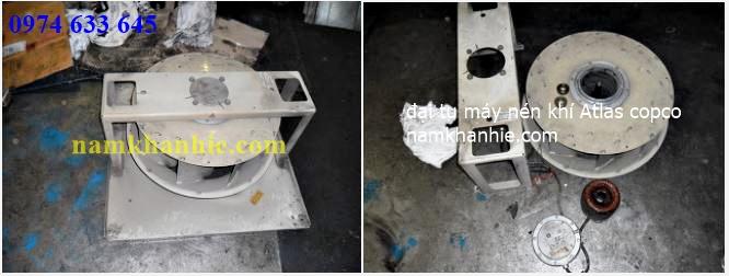 đại tu máy nén khí atlas copco