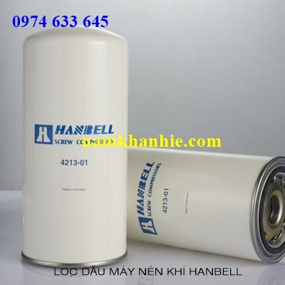 Lọc tách dầu máy nén khi Hanbell AA3-15A, AA3-22A