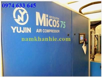 Bảo dưỡng máy nén khí micos 75