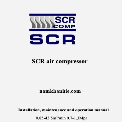 Hướng dẫn sử dụng và cài đăt màn hình máy nén khí SCR Trung Quốc.