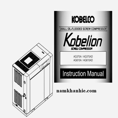 Hướng dẫn sử dụng và cài đăt máy nén khí Kobelco.