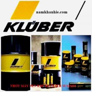 Nhớt máy nén khí Tổng hợp klueber Summit SH series (SH32, SH46, SH68)