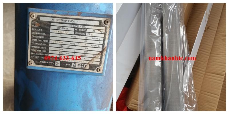 Lỏi lọc khí DHY model DHF80A-3100