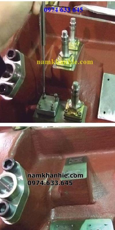 hướng dẫn thay van solenoi diều khiển công suất cho máy nén hanbell, fusheng