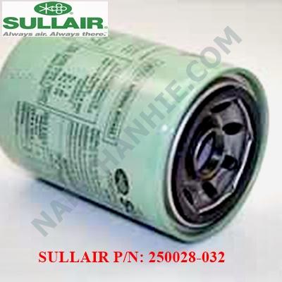 Lọc dầu máy nén khí Sullair 250028-032