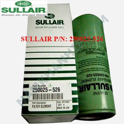 Lọc dầu máy nén khí Sullair 250025-526