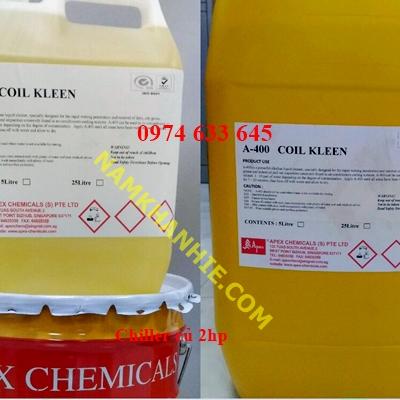 hóa chất tẩy rửa dàn giải nhiệt máy nén khí , điều hòa